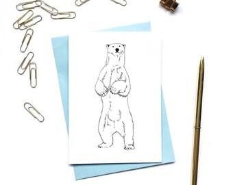 Polar Bear 3 Card Pack