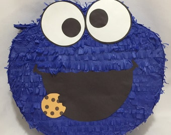 Cookie Monster Pinata Elmo Pinata
