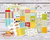 Vertical Planner Sticker Taco Tuesday Kit, Stickers for your Erin Condren Vertical Planner, {904EC2 Taco Tuesday Kit}