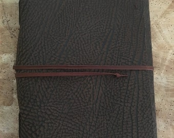 Soft-Cover Leather Journal A5 Size: Speckled Pattern