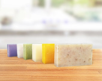 SOLD OUT Organic Soap Sample Pack - Hostess Gift - Natural Soap Sample Pack- Essential OIl Soap Handmade soap  - Soap Gift Set