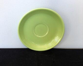 Vintage Fiestaware Chartreuse Saucer