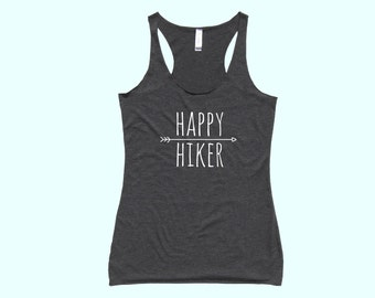 Happy Hiker :) - Fit or Flowy Hiking Tank