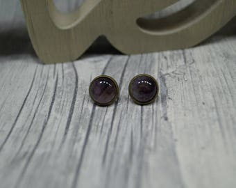 "Earrings ""Amethyst"""