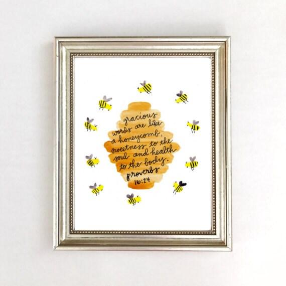 Description Bee Nursery Decor