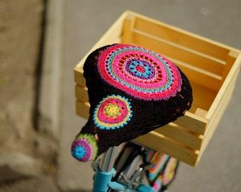 Housse de siège de vélo «Mandala»