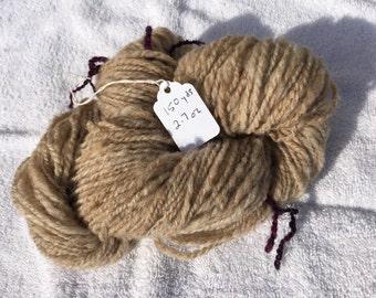 Natural color Shetland yarn 150 yards
