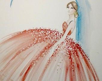 Stile - Original Watercolor