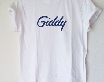 Graphic Tee: Giddy