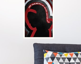 Ruby Tuesday - Rolling Stones | Music Lyrics Vintage Songs Nostalgia Poster Living Room Decal | Removable Vinyl Wall Sticker