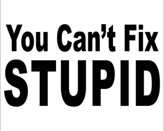 Stupid Sticker Etsy - Vinyl banners sizesjvd graphics just vinyl decal graphics banners