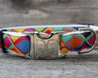 Tanzania Dog Collars - Bright