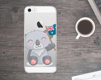 Cute Koala iPhone Case - Koala Phone Case - Koala iPhone 7 Case - Koala iPhone 6 Case