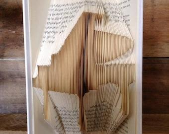 Piano Folded Book Art