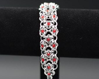 Ruby-Elemental Chain Bracelet