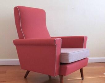 Australian Retro Mid Century Modern Armchair in KVADRAT Wool