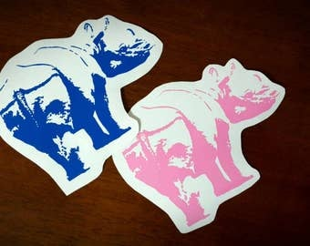 Vinyl Decal - Rhino