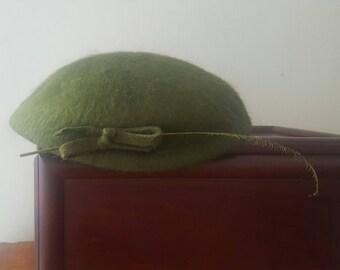 Sombrero lana 40's Terry Sales Corp. NY