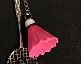 Badminton keychain   I40