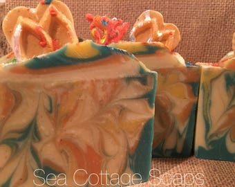 Paradise Reef Cold Process Soap Bars