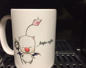 15 oz. Moogle Final Fantasy kupo coffee Mug