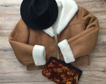 Vintage Shearling Coat //HOLD FOR IRINA