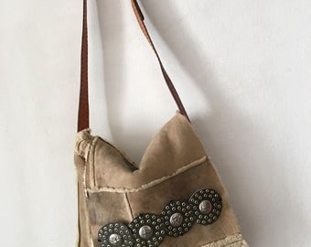 New recycled bag , hand made vintage style made in USA.