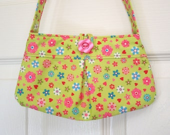 Little Girl Pleated Purse, girl purse, toddler purse, little girl bag