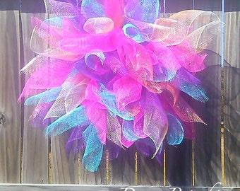 Sunburst Flower Wreath