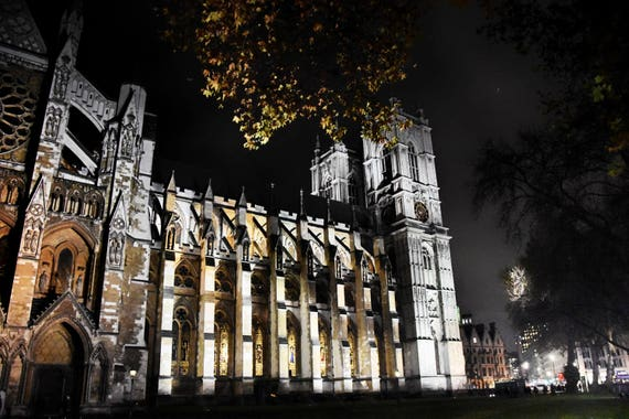 City Photography, Westminster Abbey, London Photography, Church Photography, London City, London Landscapes, Wall Art, London at Night