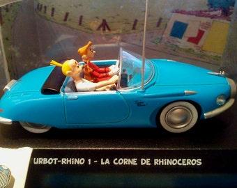 GORGEOUS Turbot Rhino 1- La Corne De Rhinocéros, Turbot Rhino 1 La Corne De Rhinocéros, Spirou-Atlas Edtions Vehicle, TURBOT RHINO, Spirou