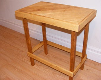Rustic End Table/Plant Stand