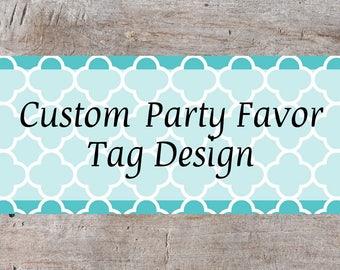 Party Favor Tags, Custom Favor Tags, Personalized Favor Tags, Party Favor, Event Favor Tags, Printable Favor Tags, Custom Favor Tags