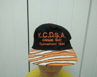 Rare Vintage K.C.D.S.A Annual Golf Tournament 1994 Embroidered Cap Hat Free size fit all