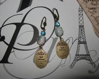 VINTAGE EARRINGS/ Boucles d'oreilles dormeuses Vintage