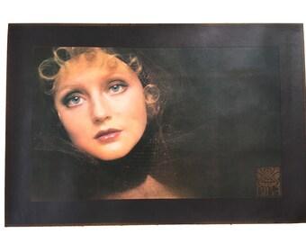 Original Biba Vintage Shop Poster Ingrid Boulting By Sarah Moon 1971