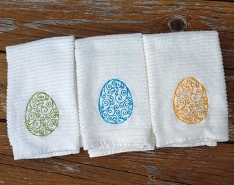 Easter gift mom etsy sale easter egg towels kitchen bar towels kitchen towels easter bar mop towels negle Choice Image