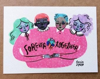 Forever Together Print