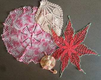 Lovely vintage doilies (3)