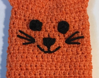 Calico Cat = Cast Cozy/Cast Sock/Toe Cover = Ready to ship.