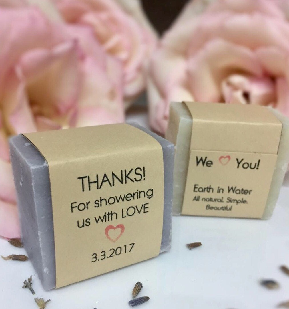 Captivating 60 Wedding Shower Favors, Baby Shower Favors, Thank You Gifts, Bridal Favors,  Soap Favors