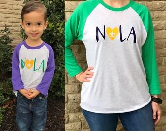 Mardi Gras Shirt, Kid's New Orleans Shirt, Carnival Shirt