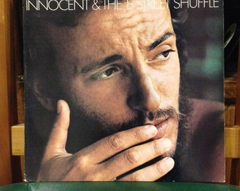 """Bruce Springsteen- The Wild, The Innocent and the E Street Band, 33 rpm 12"""" vinyl album, """"Rosalita (Come Out Tonight)"""", """"E Street Shuffle"""""""