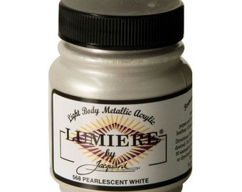 how to use lumiere metallic acrylic paint