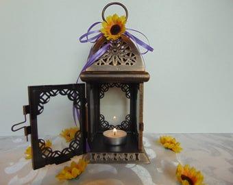 Set of 10  rustic wedding lanterns, wedding lighting, rustic wedding decor, metal lantern,moroccan lantern, candleholder, candle lantern