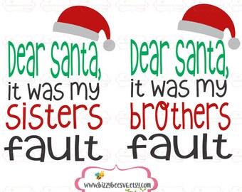 Christmas SVG, DXF, EPS christmas cut file santa svg baby dear santa svg baby svg my santa cut file christmas cut file santas little helper