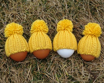 Set of 4 wool egg warmers easter egg cozy hostess gift kids party favors kitchen accessories table decorations wedding favors farmhouse chic