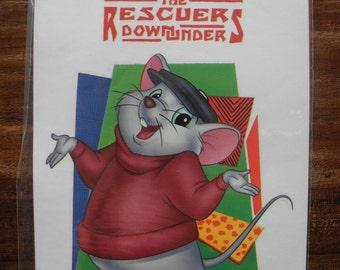 The Rescuers down under sticker