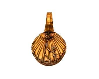 Gregorian Solid Copper Silent Butler