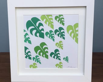 Palm Leaves-Palm Leaf-Palm Tree-Gardener gift-home Decor-palm leaf wall art-palm decor-conservatory decor